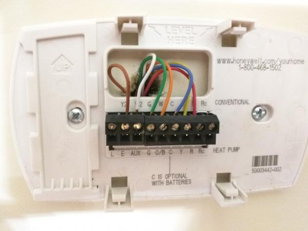 Wire Thermostat To Use Gas On Dual Fuel HVAC