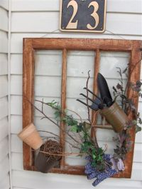Diy Window Repurpose: reuse your old windows according to ...