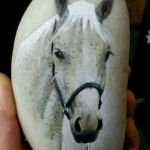 25 Fantastic DIY Painted Rocks Animals Horse for Summer Ideas (13)