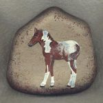 25 Fantastic DIY Painted Rocks Animals Horse for Summer Ideas (16)