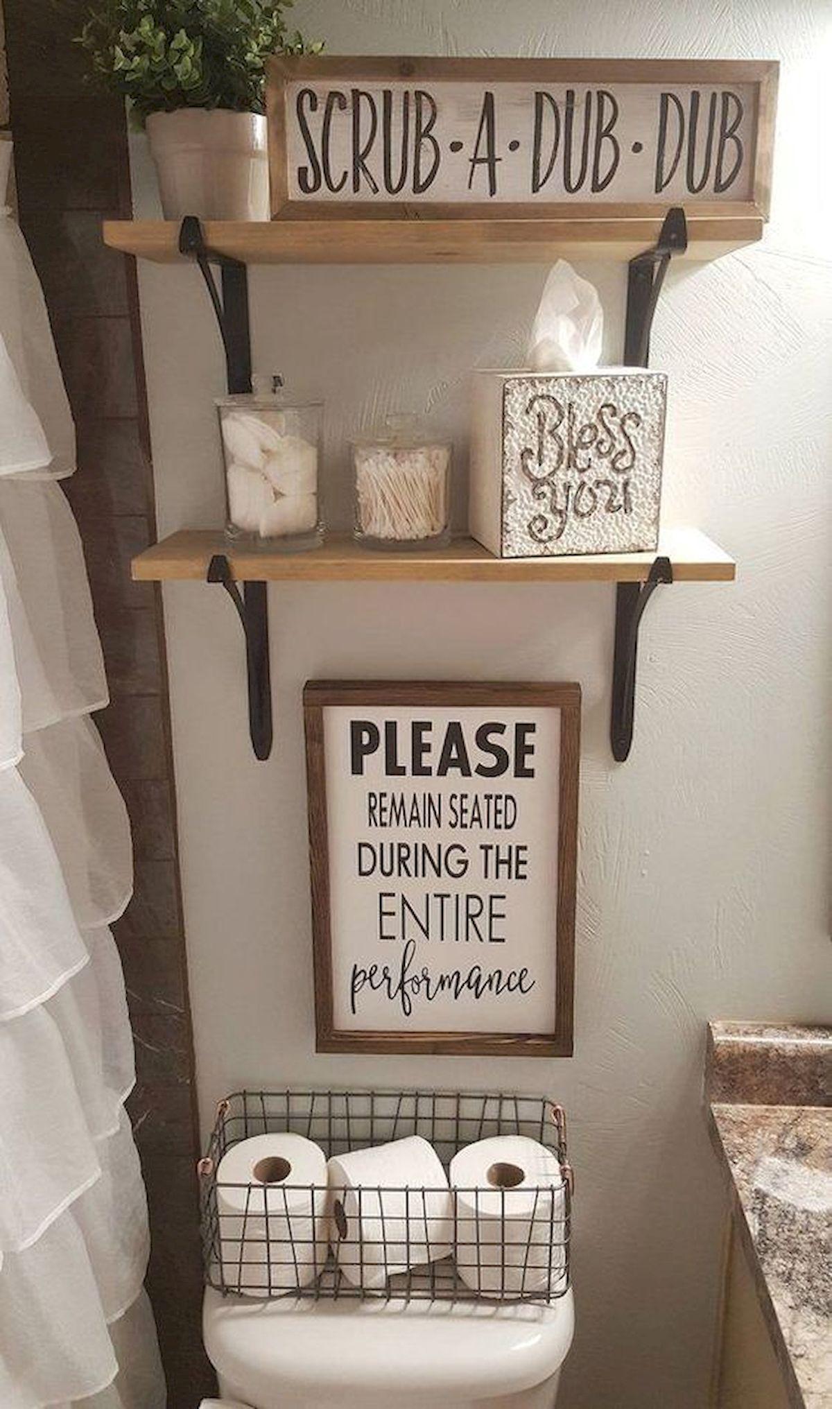 40+ DIY Bathroom Decor And Design Ideas (16)