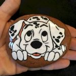 40 Favorite DIY Painted Rocks Animals Dogs for Summer Ideas (31)