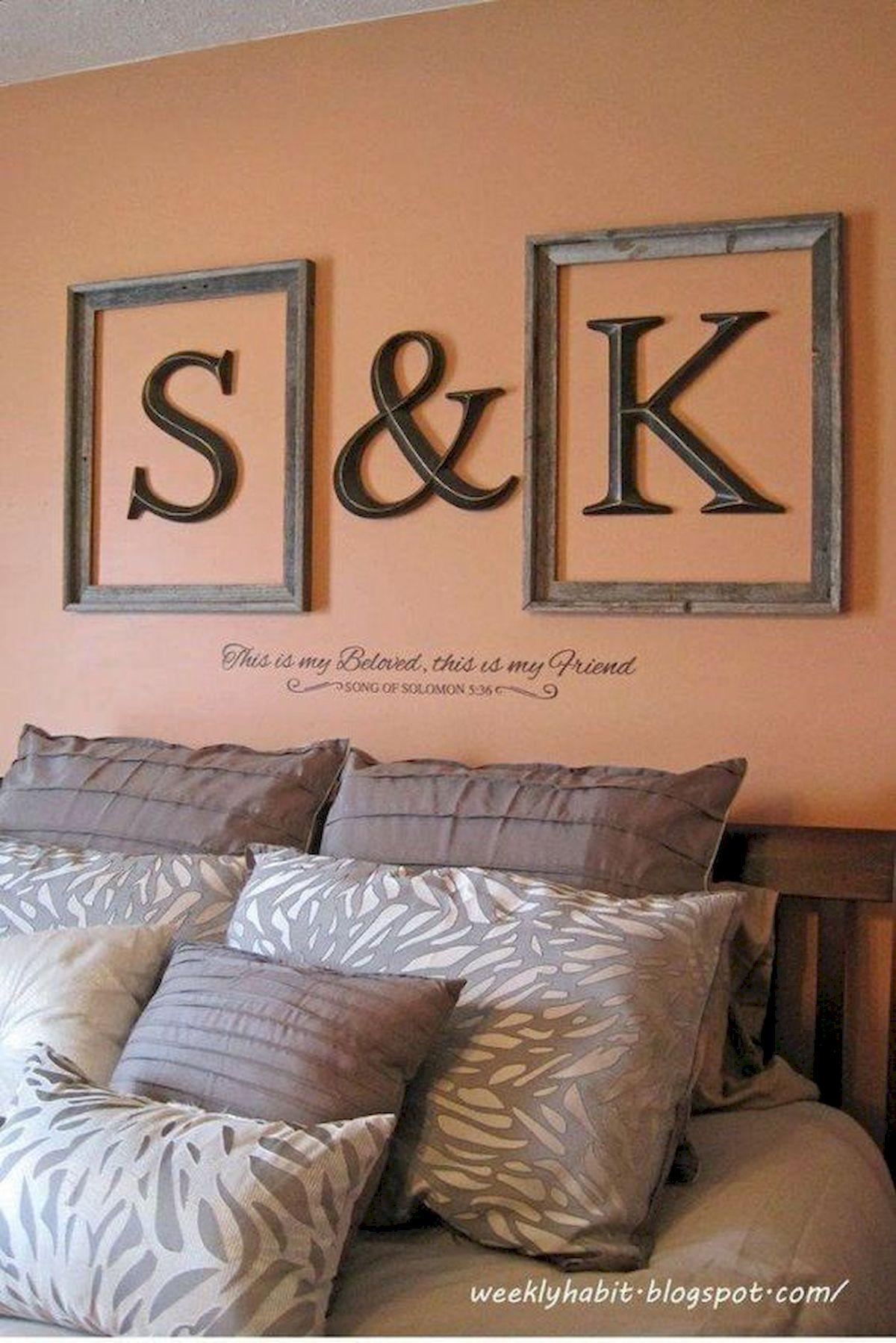 55 Romantic DIY Bedroom Decor For Couple (42)