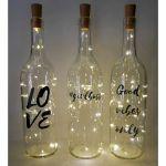 76 Best DIY Wine Bottle Craft Ideas (39)