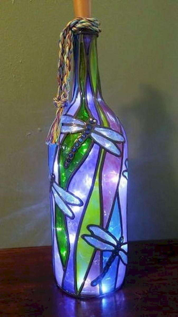 76 Best DIY Wine Bottle Craft Ideas (5)