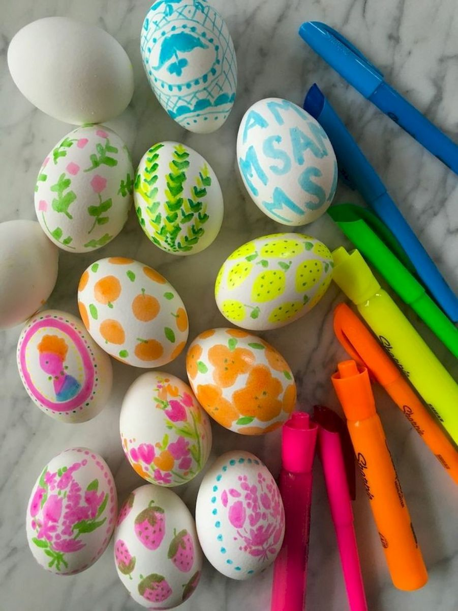 90 Awesome DIY Easter Eggs Ideas (42)