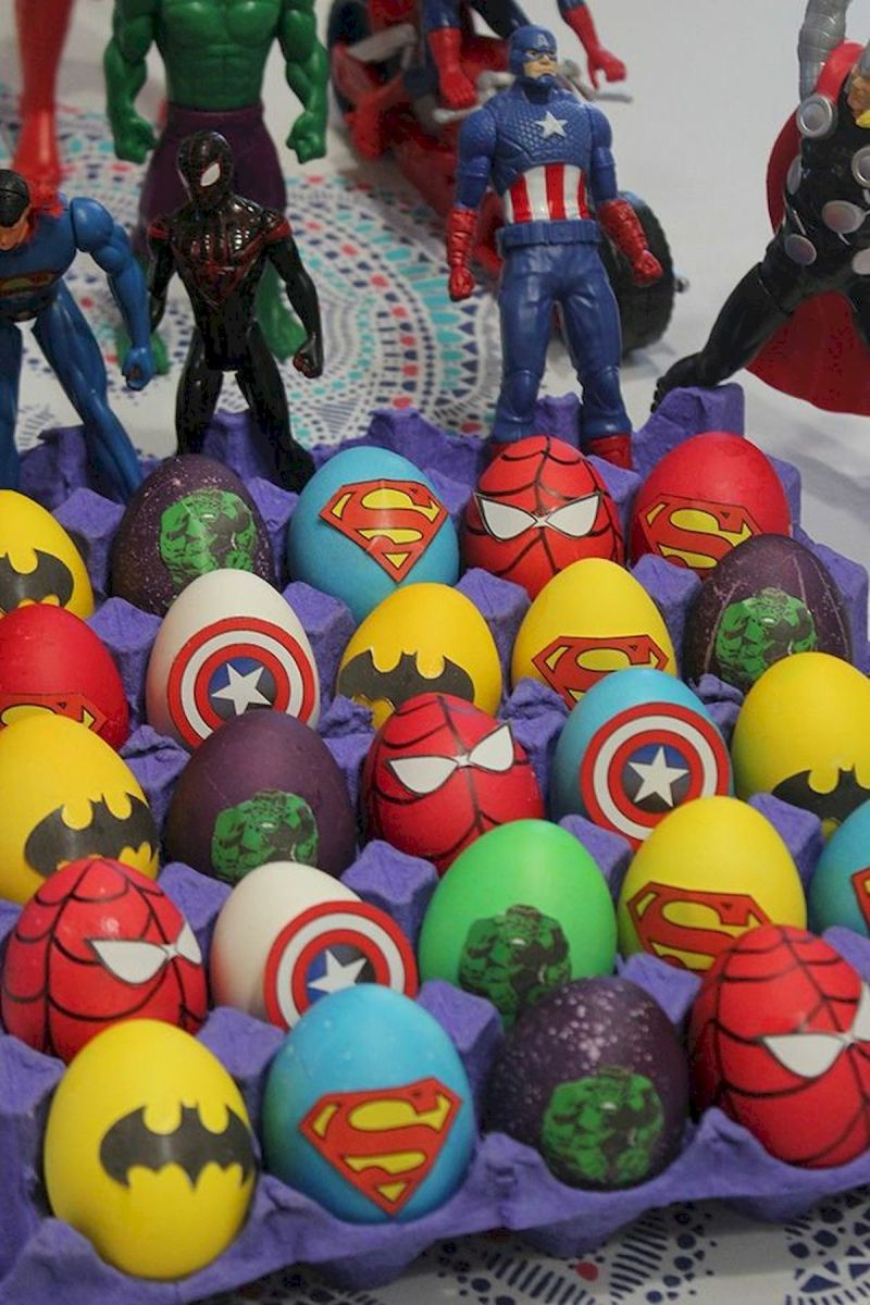 90 Awesome DIY Easter Eggs Ideas (76)