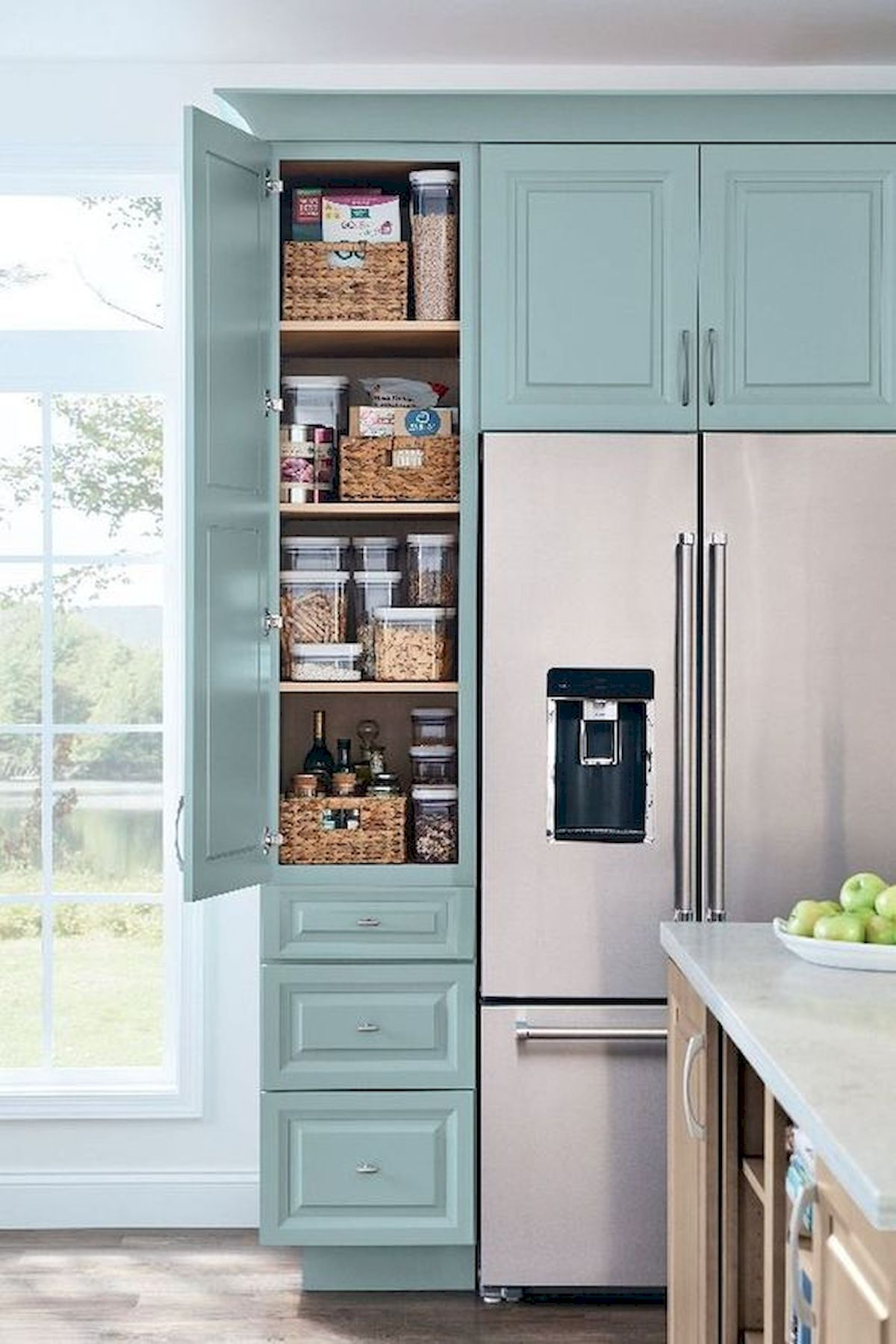 30 Awesome DIY Kitchen Cabinets Ideas (10)