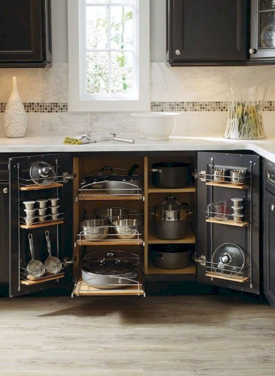 30 Awesome DIY Kitchen Cabinets Ideas (16)