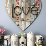 30 Awesome Wood Hearts DIY Ideas (24)