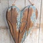 30 Awesome Wood Hearts DIY Ideas (27)