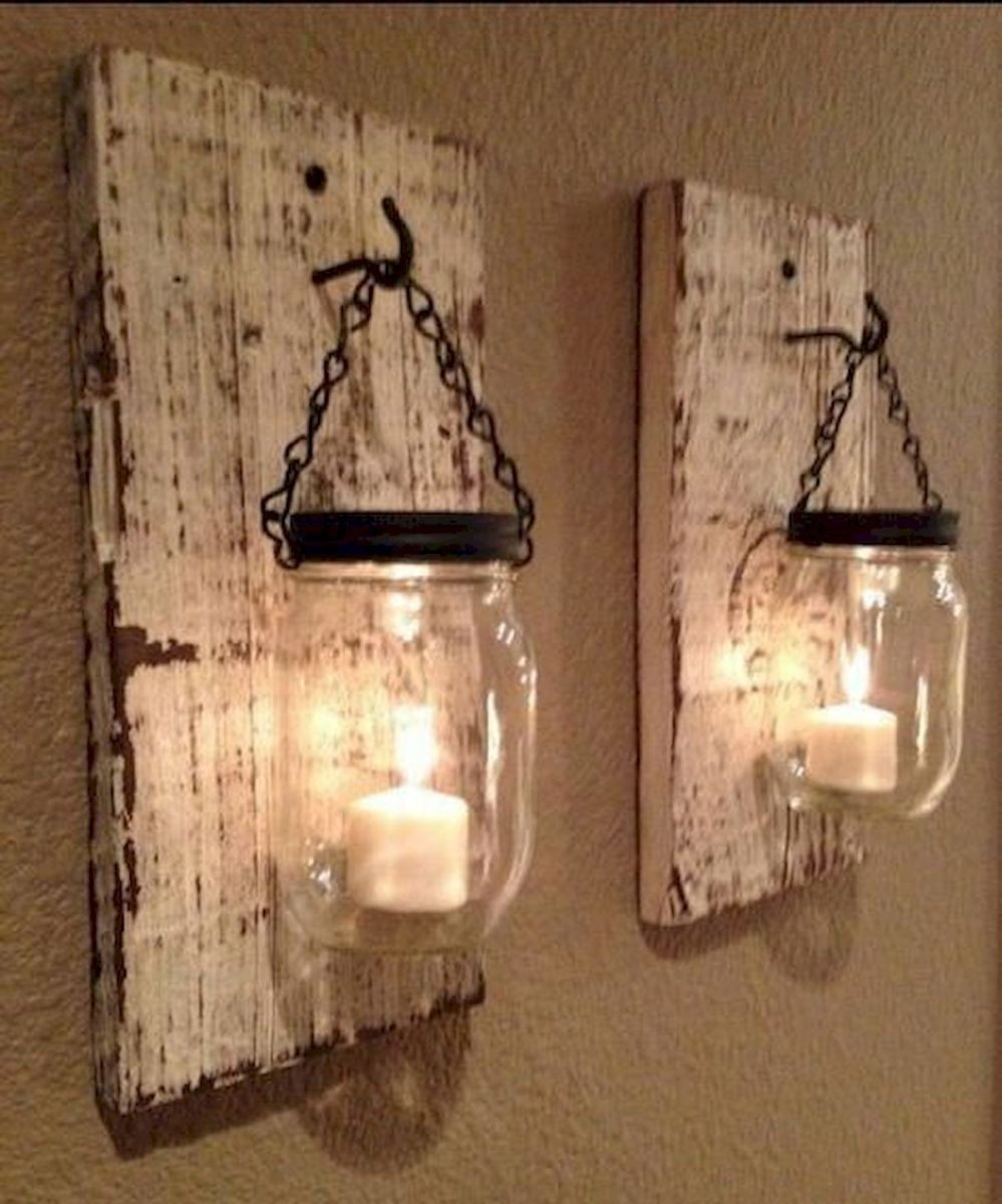 33 Awesome DIY Crafts Ideas for Interior Home Wall (11)