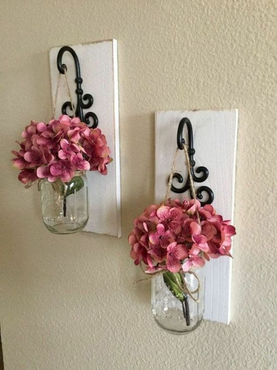 33 Awesome DIY Crafts Ideas for Interior Home Wall (33)