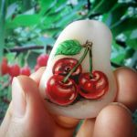 40 Awesome DIY Painted Rocks Fruits Ideas (22)