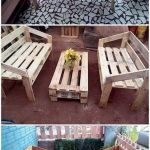 50 Amazing DIY Projects Outdoor Furniture Design Ideas (25)
