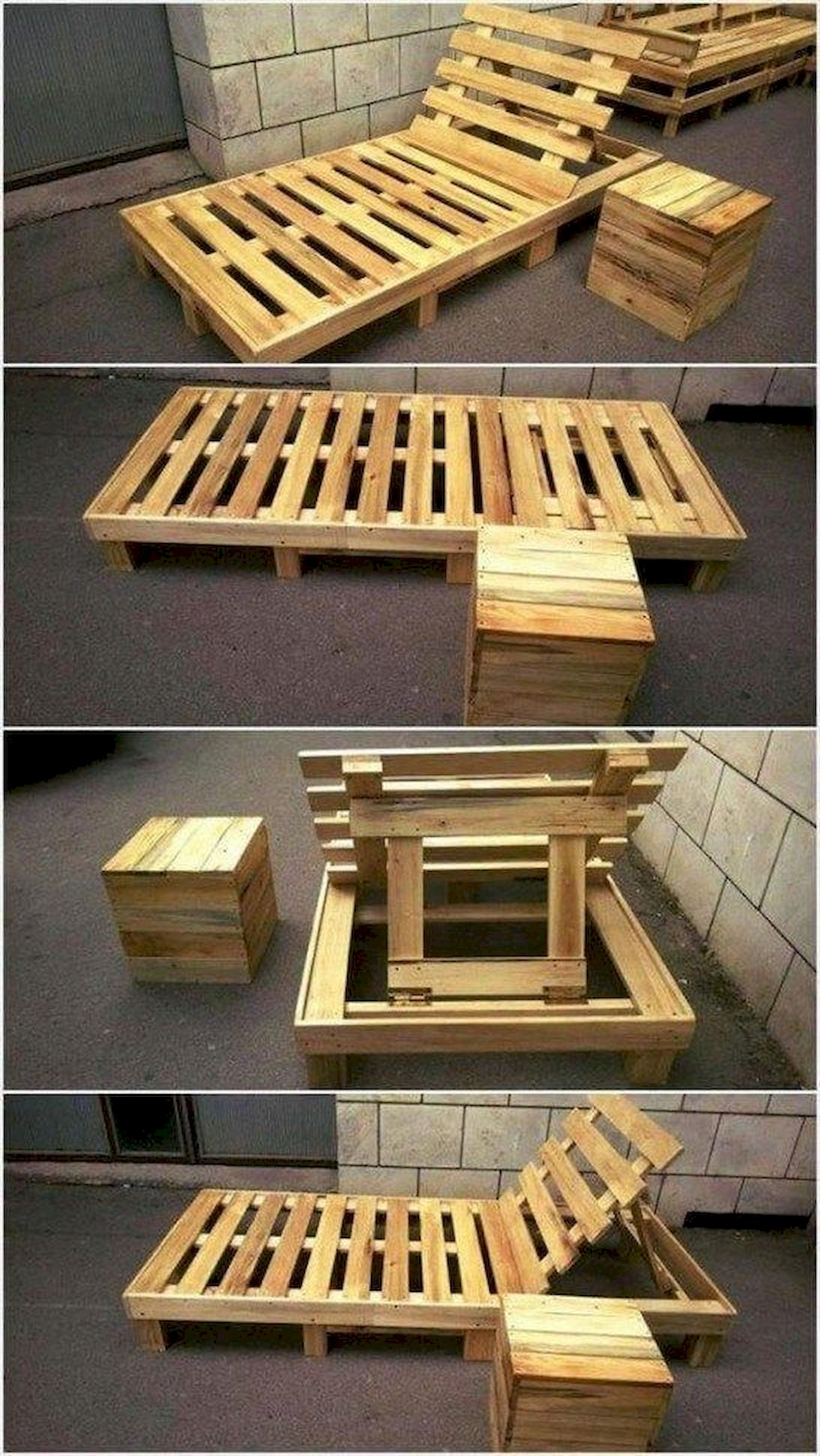 50 Amazing DIY Projects Outdoor Furniture Design Ideas (26)