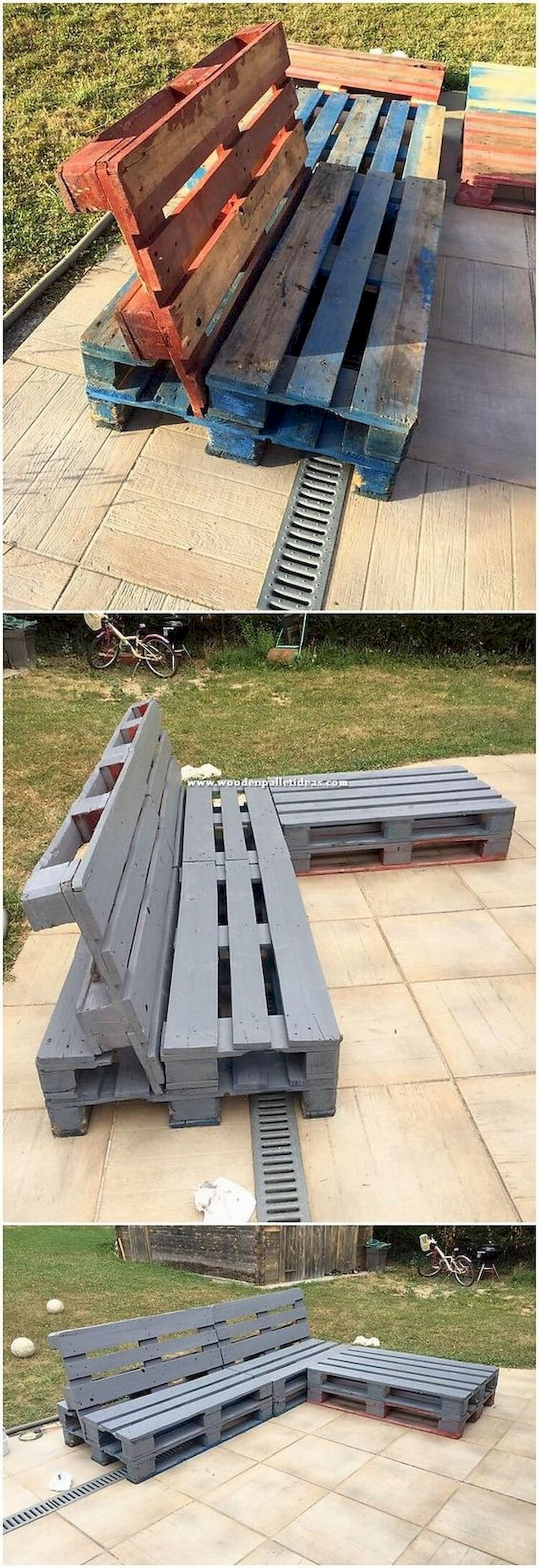 50 Amazing DIY Projects Outdoor Furniture Design Ideas (35)