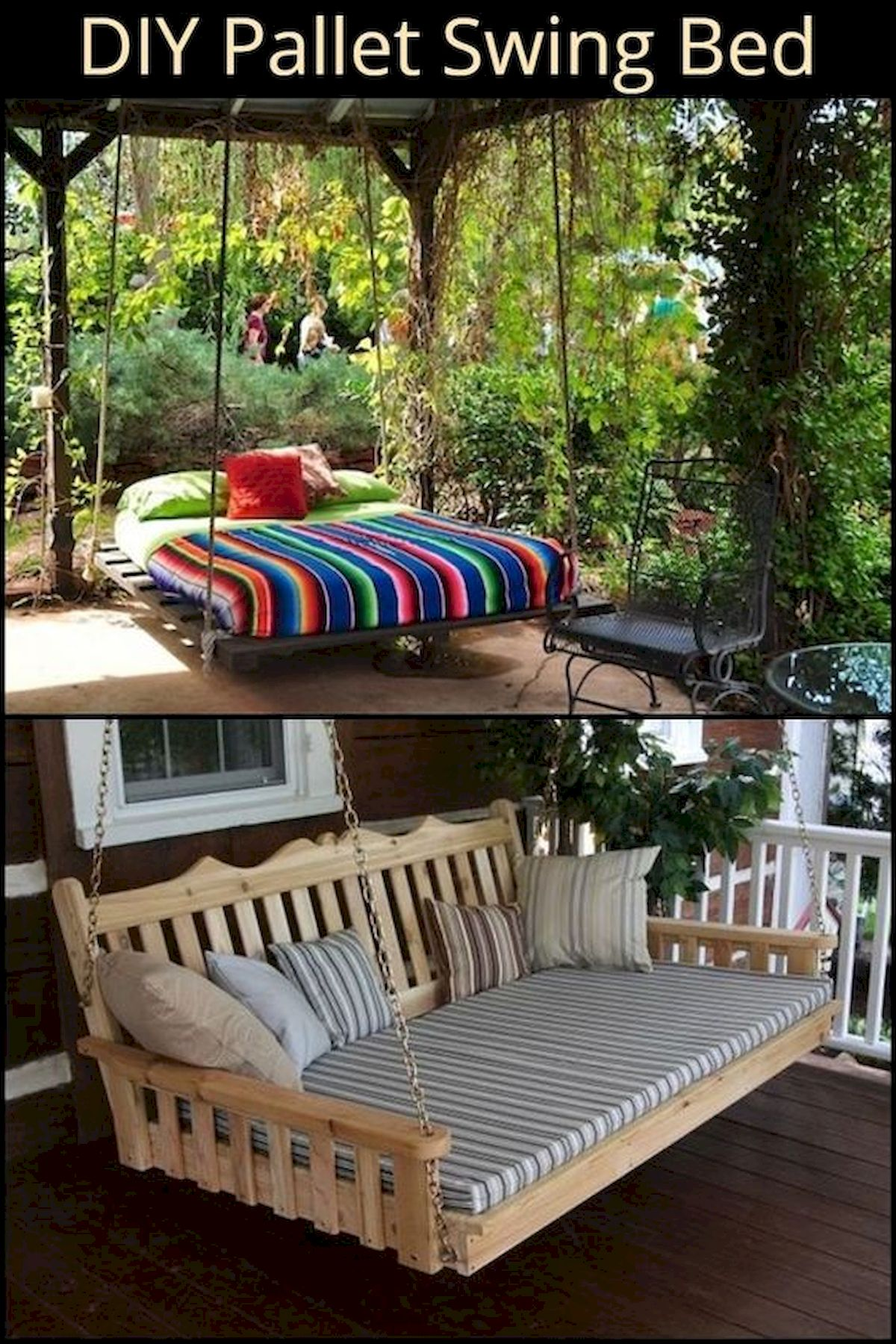 50 Amazing DIY Projects Outdoor Furniture Design Ideas (43)