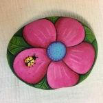 60+ Beautiful DIY Painted Rocks Flowers Ideas (1)