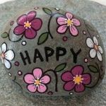 60+ Beautiful DIY Painted Rocks Flowers Ideas (37)