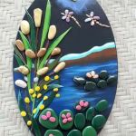 60+ Beautiful DIY Painted Rocks Flowers Ideas (60)