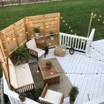 50 Best DIY Backyard Patio and Decking Design Ideas (15)
