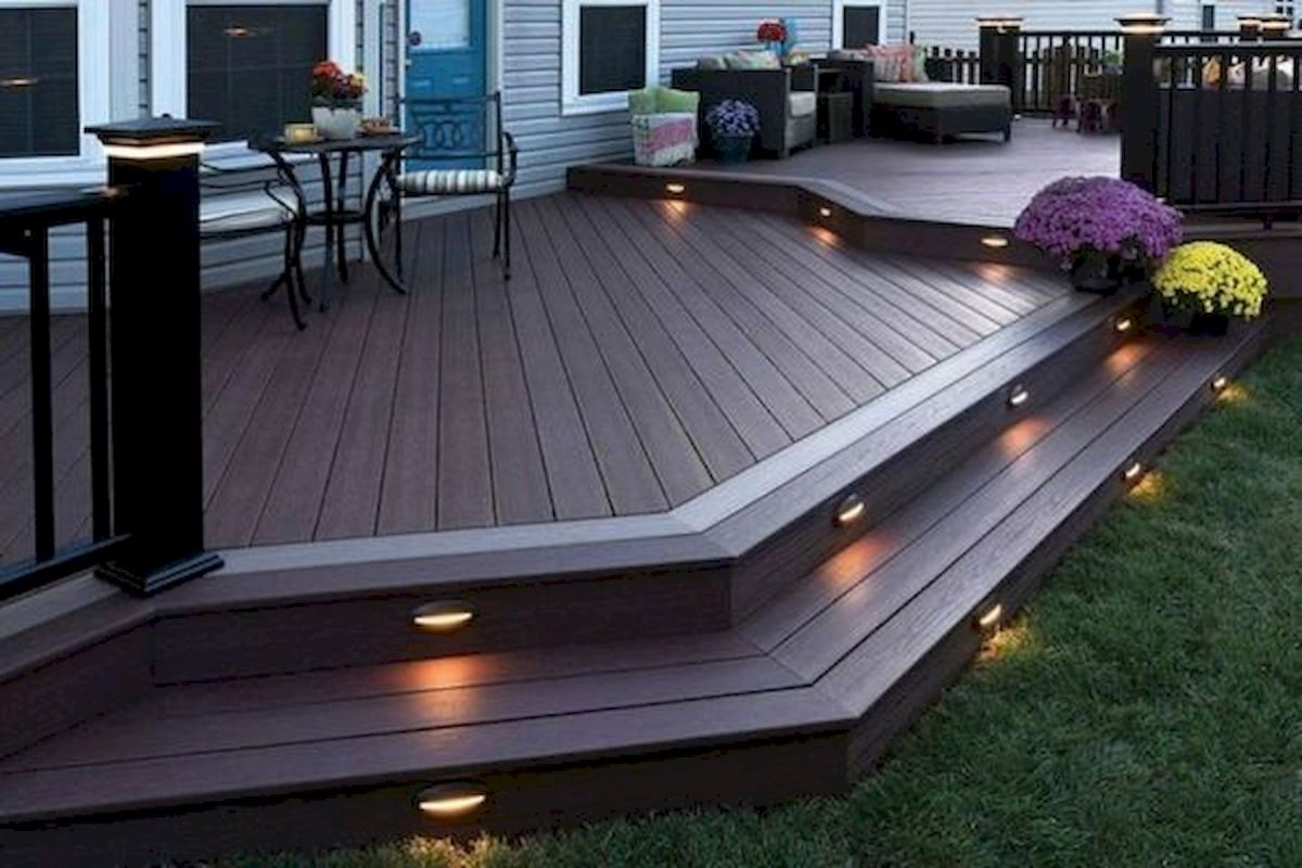 50 Best DIY Backyard Patio and Decking Design Ideas (24)