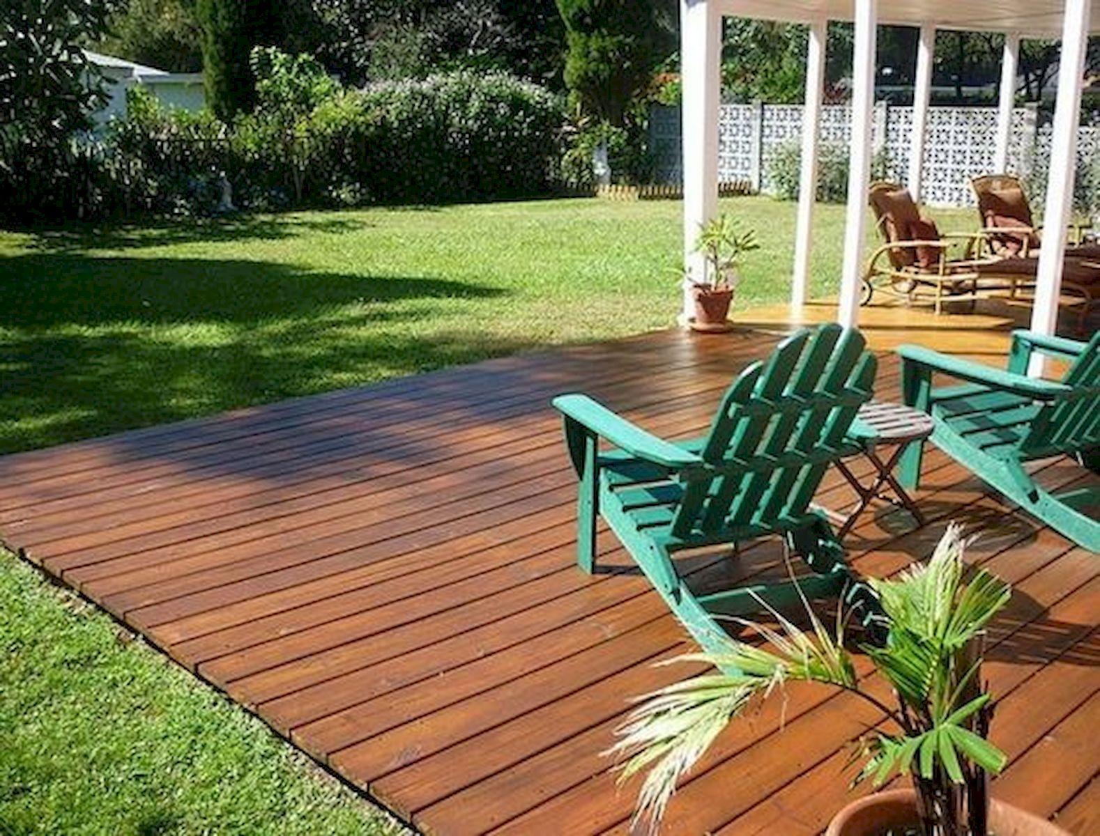 50 Best DIY Backyard Patio And Decking Design Ideas (40)