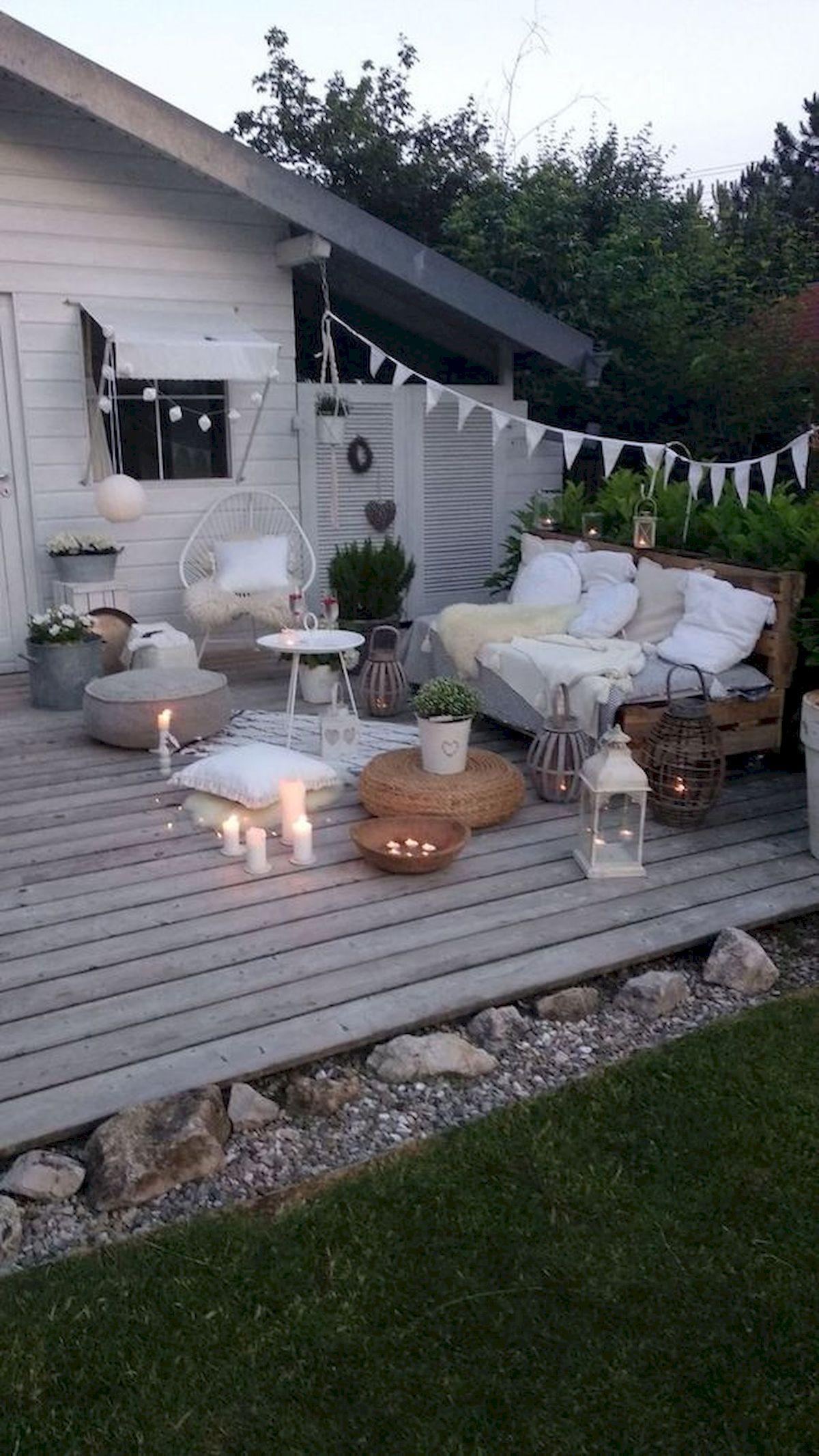 50 Best DIY Backyard Patio And Decking Design Ideas (43)