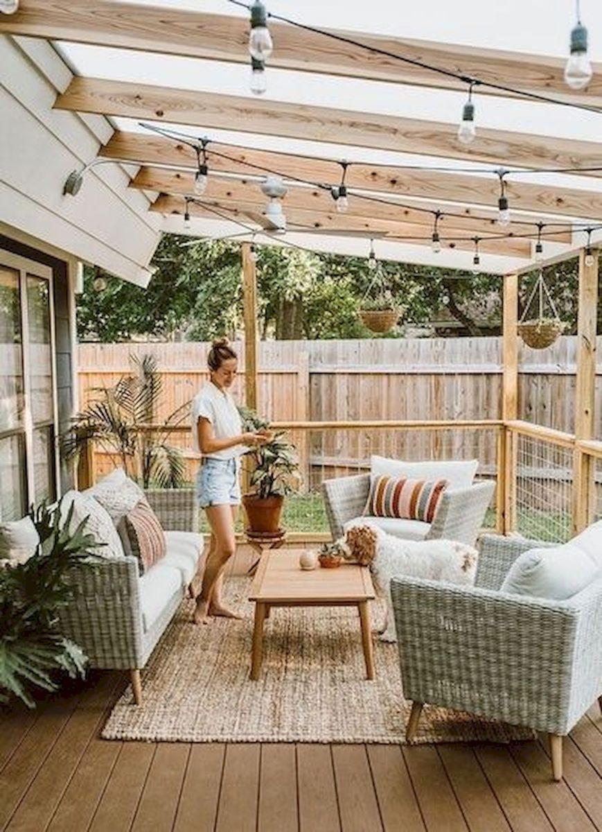 50 Best DIY Backyard Patio and Decking Design Ideas (44)