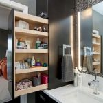 50 Best DIY Storage Design Ideas To Maximize Your Small Bathroom Space (42)