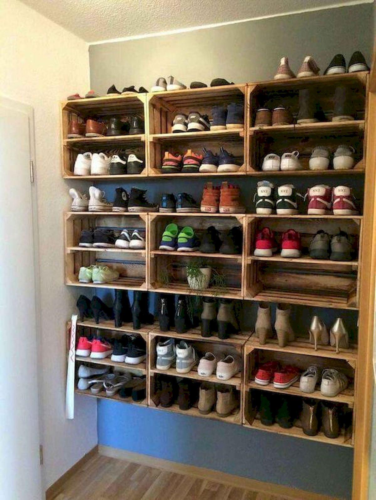 50 Fantastic DIY Shoes Rack Design Ideas (29)