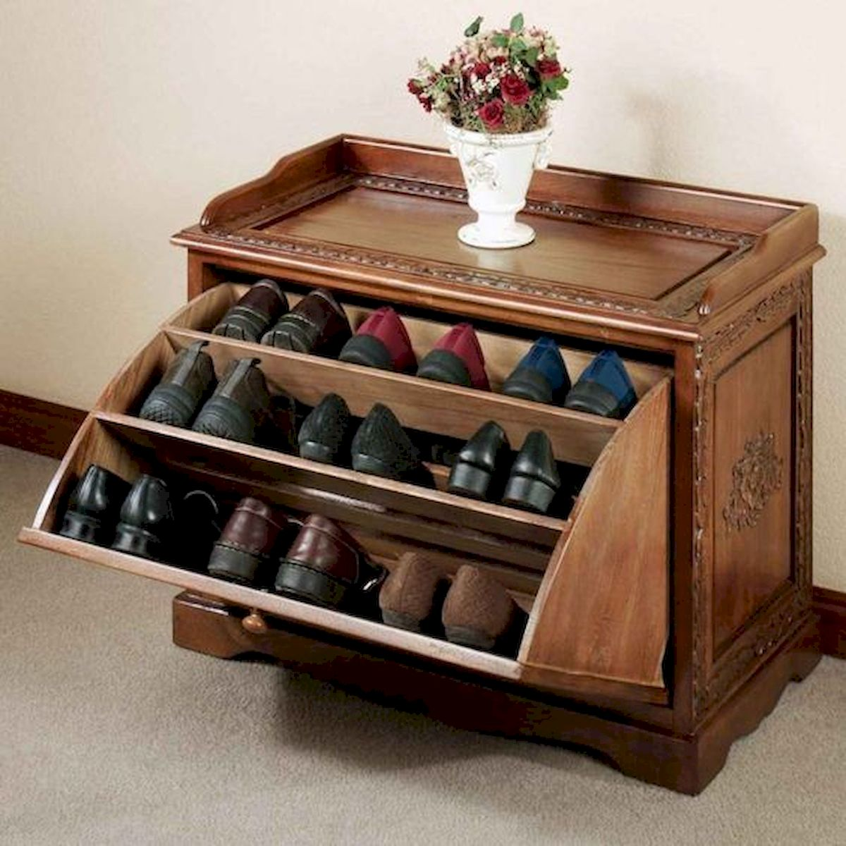 50 Fantastic DIY Shoes Rack Design Ideas (4)