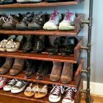 50 Fantastic DIY Shoes Rack Design Ideas (47)