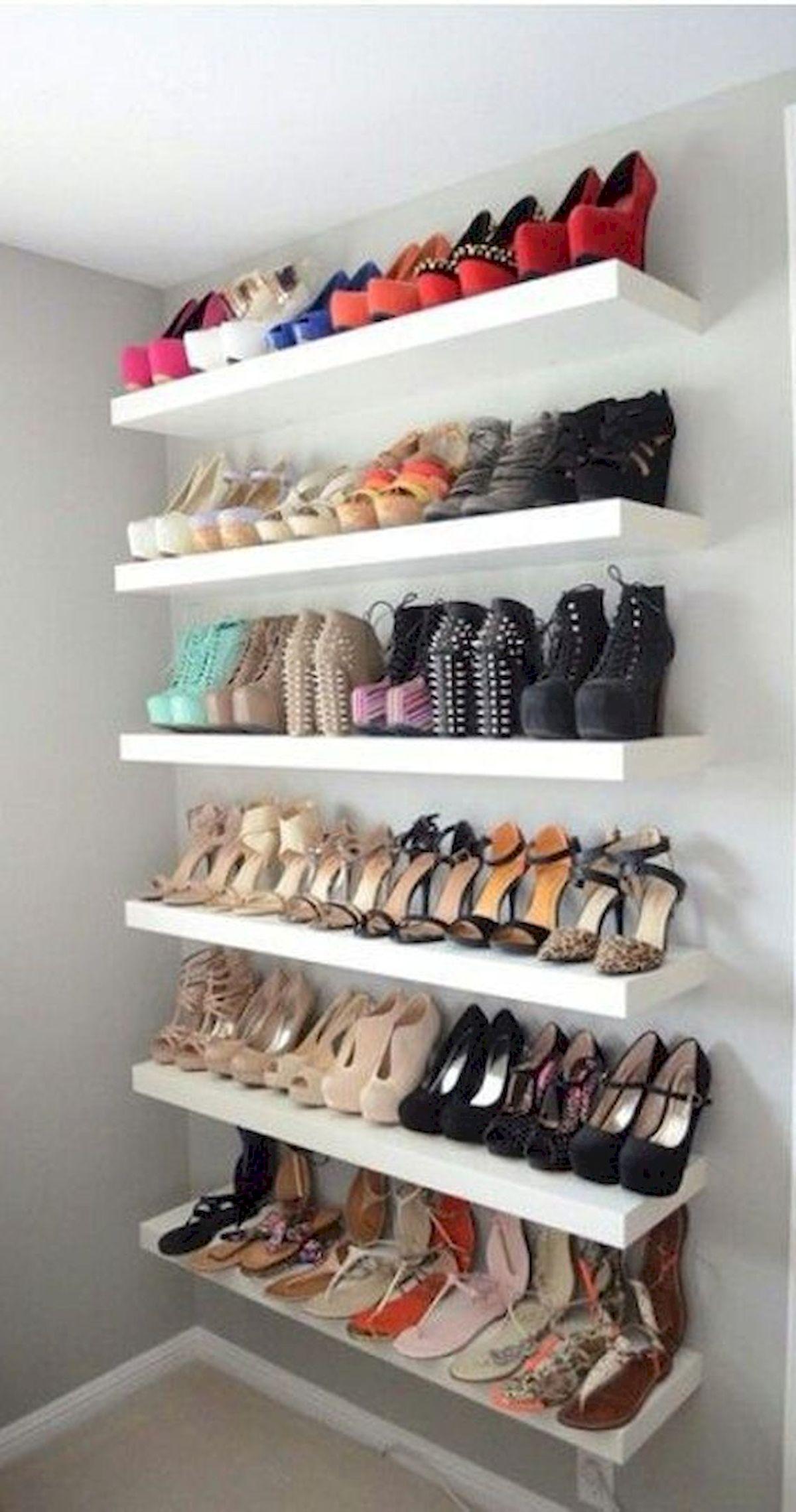 50 Fantastic DIY Shoes Rack Design Ideas (50)