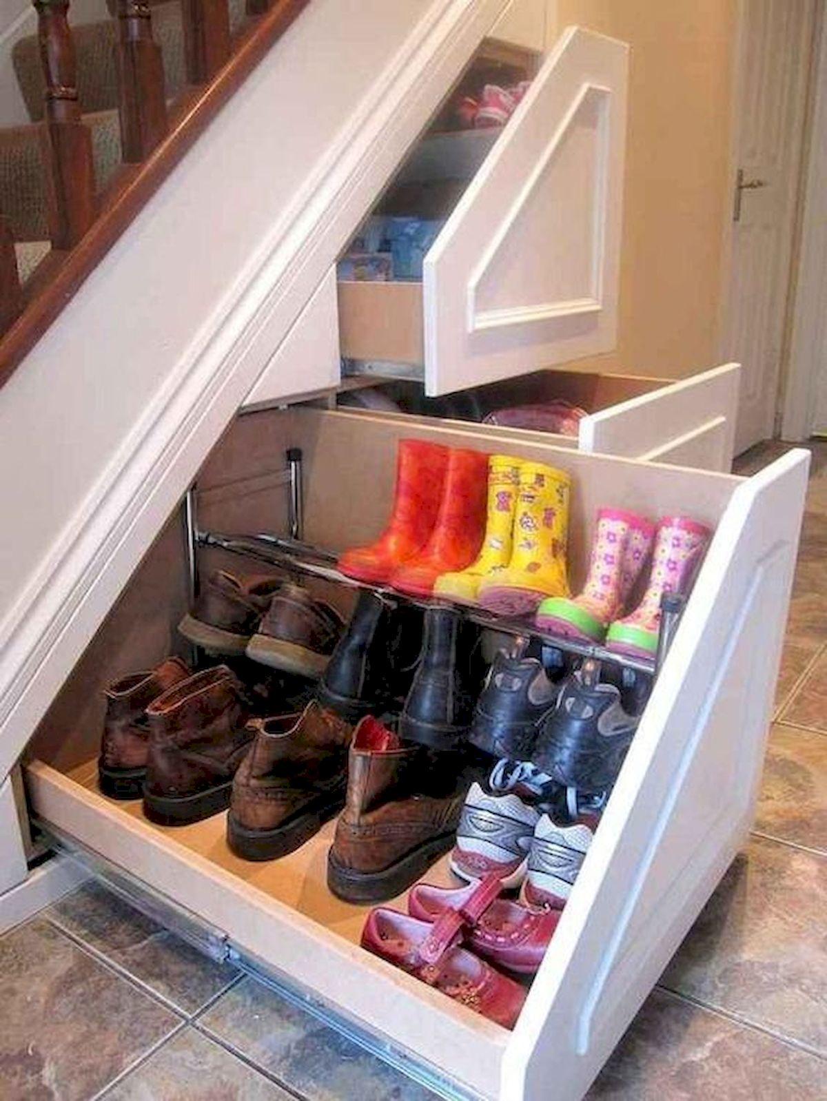 50 Fantastic DIY Shoes Rack Design Ideas (9)