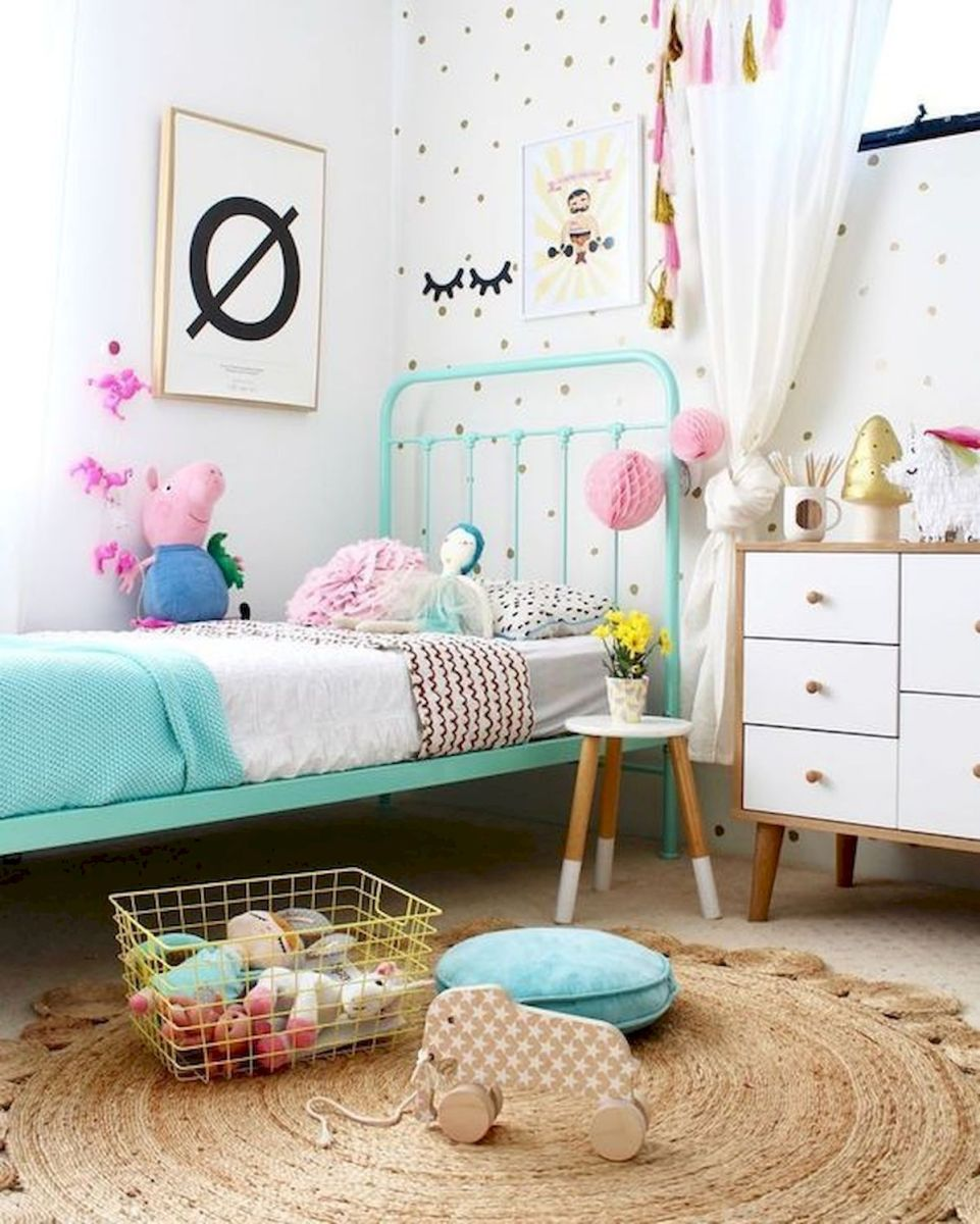 60 Cute DIY Bedroom Design and Decor Ideas for Kids (28)