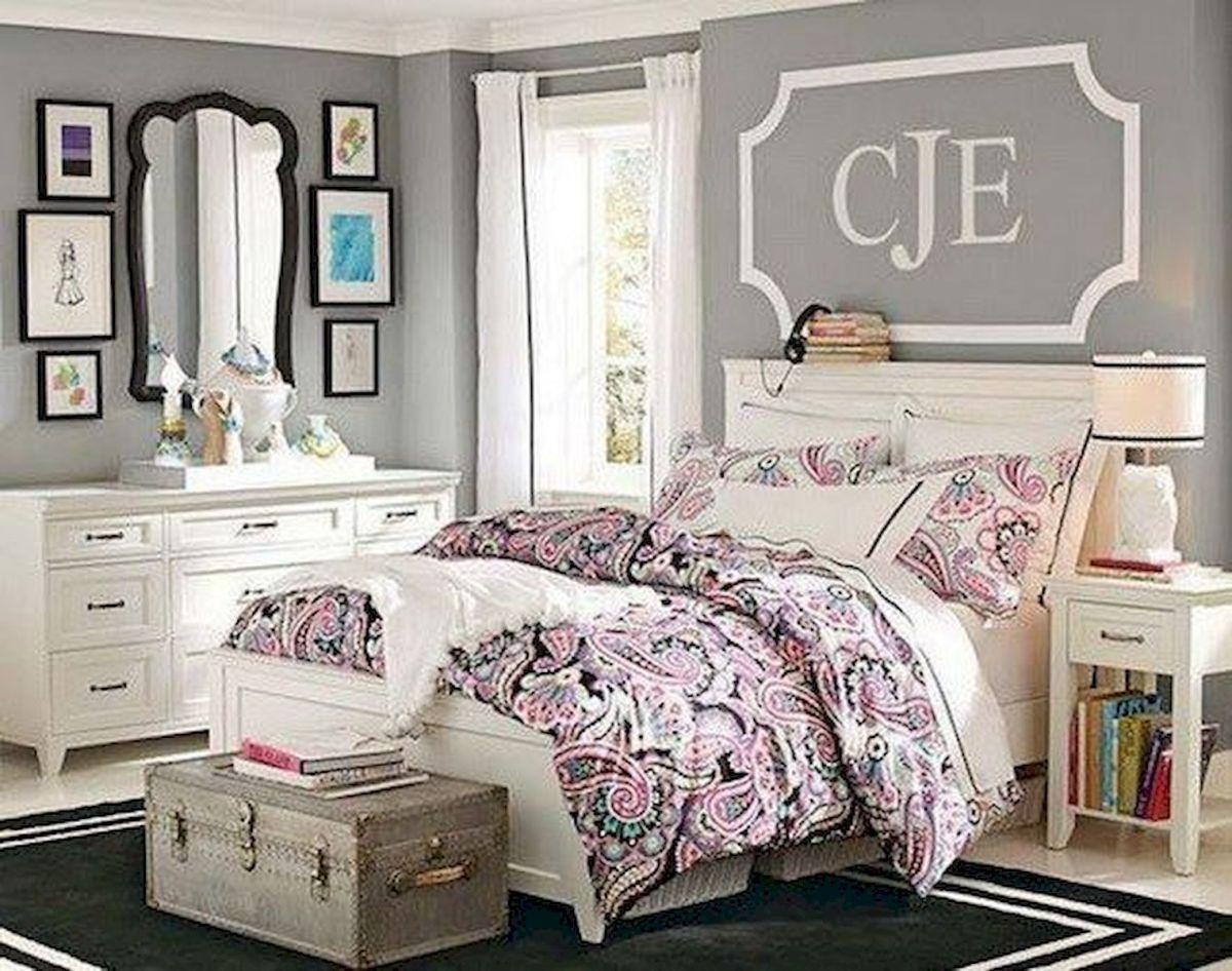 60 Cute DIY Bedroom Design and Decor Ideas for Kids (38)