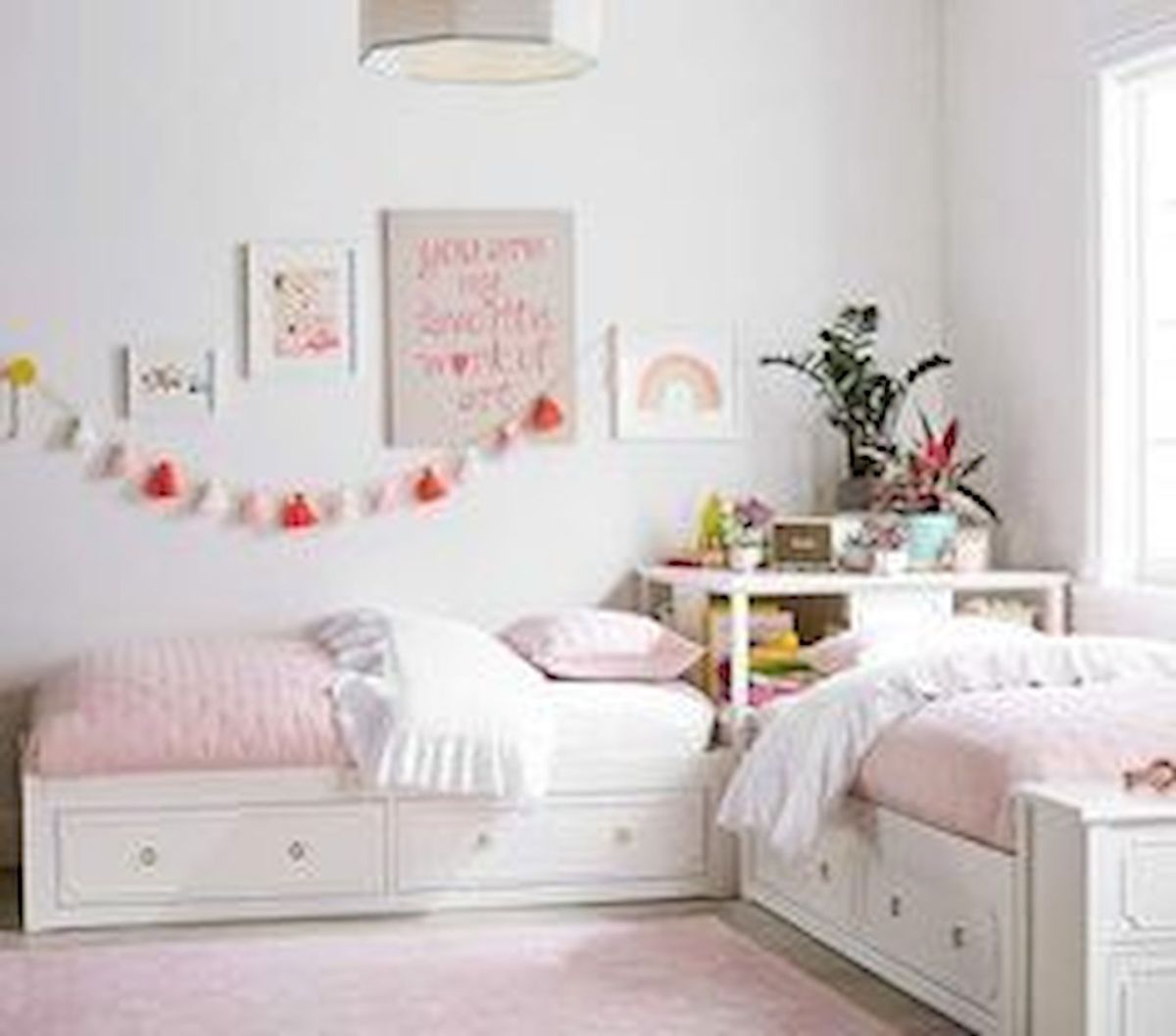 60 Cute DIY Bedroom Design and Decor Ideas for Kids (56)