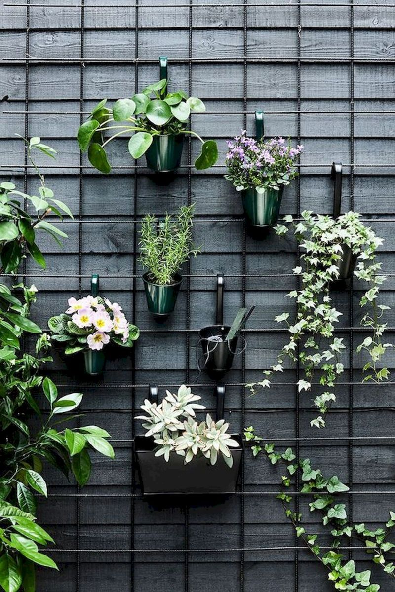 50 Awesome DIY Hanging Plants Ideas For Modern Backyard Garden (29)