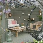 50 Awesome DIY Hanging Plants Ideas For Modern Backyard Garden (3)