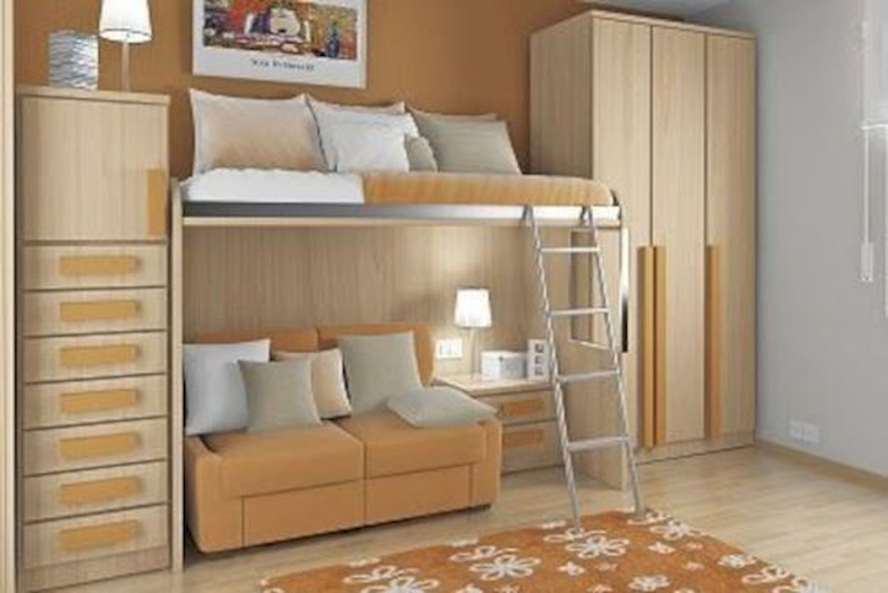 60 Easy And Brilliant DIY Storage Ideas For Small Bedroom (55)
