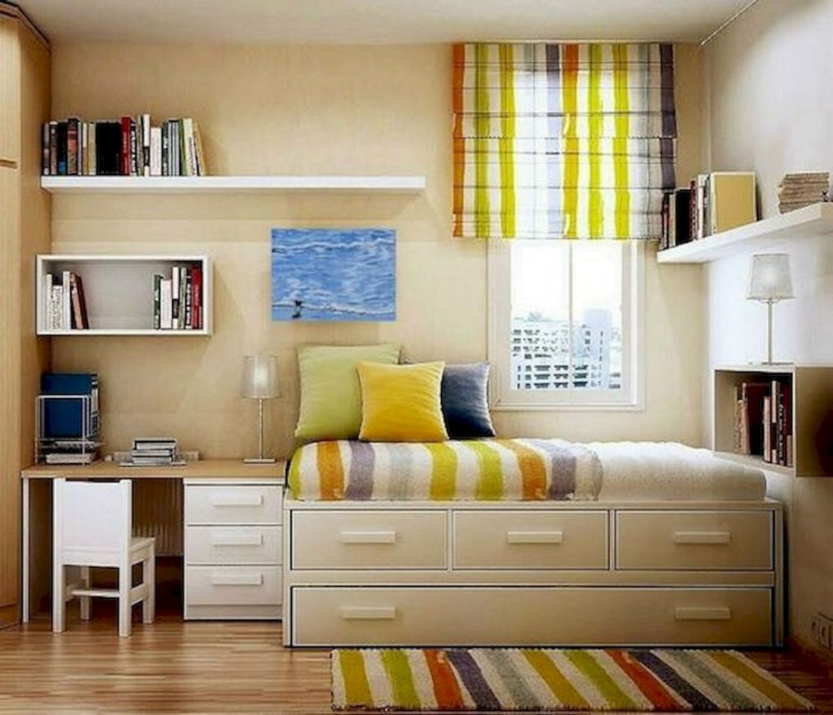 60 Easy and Brilliant DIY Storage Ideas For Small Bedroom (60)