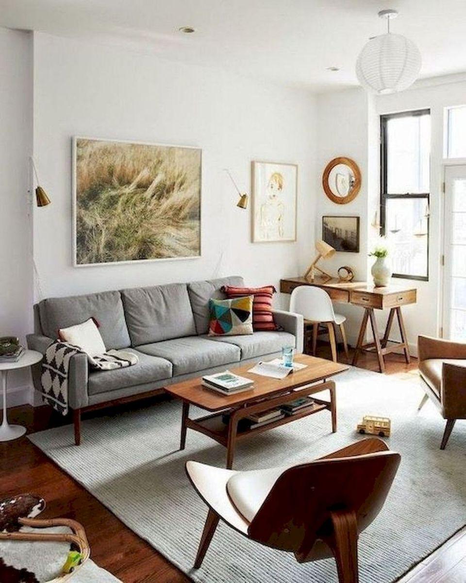 45 Brilliant DIY Living Room Design and Decor Ideas for Small Apartment (35)