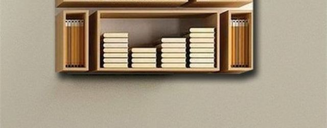 50 Easy DIY Bookshelf Design Ideas (1)