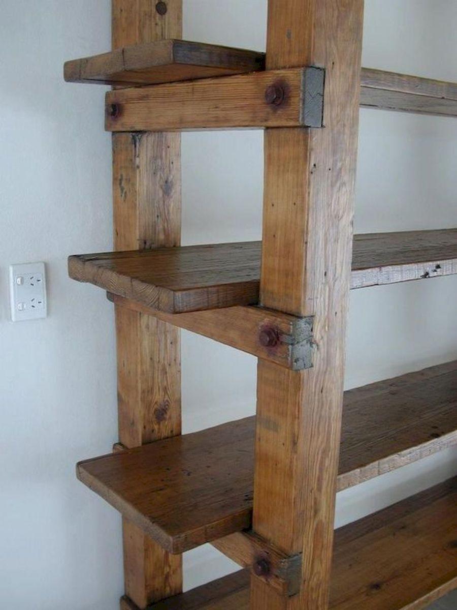 50 Easy DIY Bookshelf Design Ideas (14)