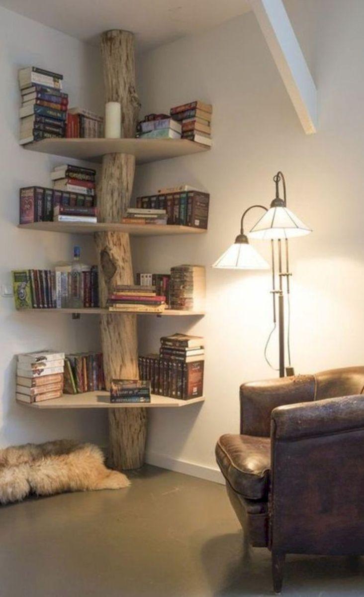 50 Easy DIY Bookshelf Design Ideas (26)