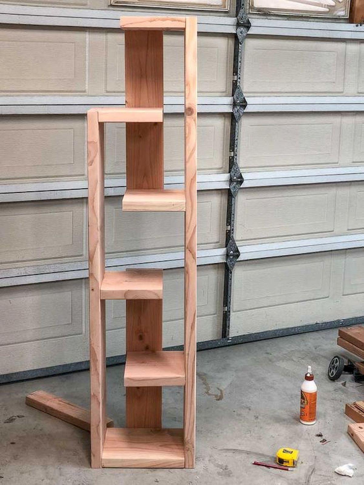 50 Easy DIY Bookshelf Design Ideas (42)