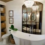 50 Fantastic DIY Modern Farmhouse Bathroom Remodel Ideas (46)