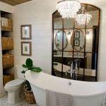 50 Fantastic DIY Modern Farmhouse Bathroom Remodel Ideas (46)
